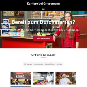 Karriere bei Grissemann: neue Karriere-Website